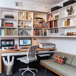 Oficinas modernas en casa 40 fotos e ideas