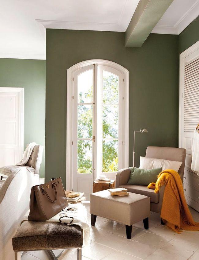 Colores para interiores modernos decorevista - Colores paredes interiores ...
