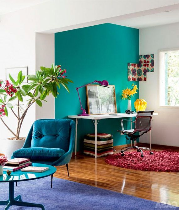 Colores para interiores modernos 2019 decorevista for Colores para pintar puertas de interior