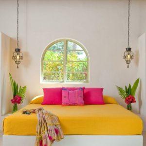 Combinación de colores en decoración