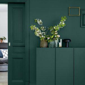 Tonalidades de verde en decoración