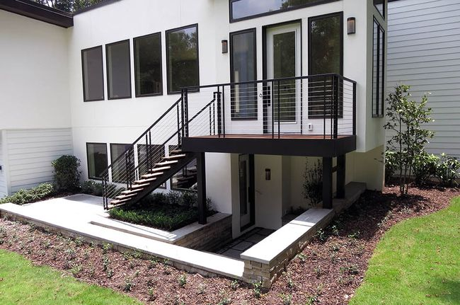 Escaleras modernas interiores y exteriores decorevista for Diseno de interiores espacios reducidos
