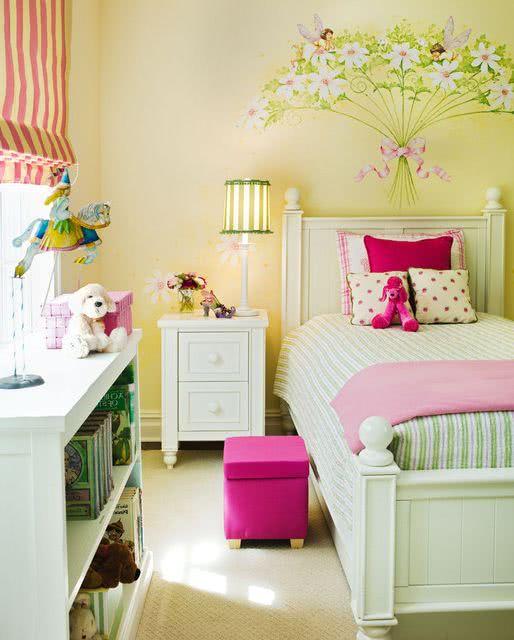 Habitaciones para niñas – ideas de decoración y colores 2019