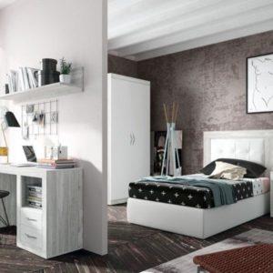 Dormitorios juveniles muebles e ideas