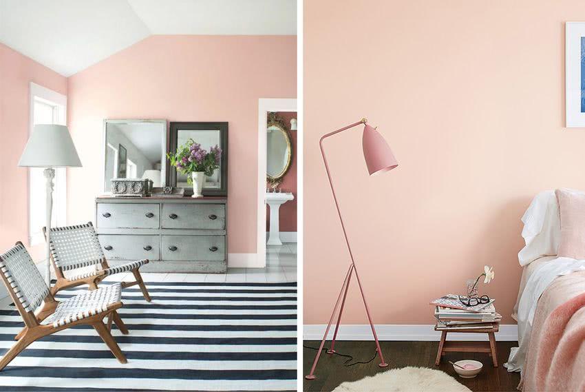 hermosos diseños de pared de dormitorio Colores Para Dormitorios 2019 DecoRevista