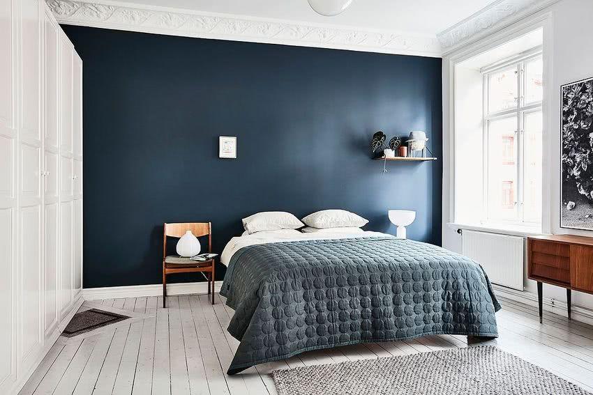 Colores para dormitorios 2019 decorevista for Dormitorios pintados en gris