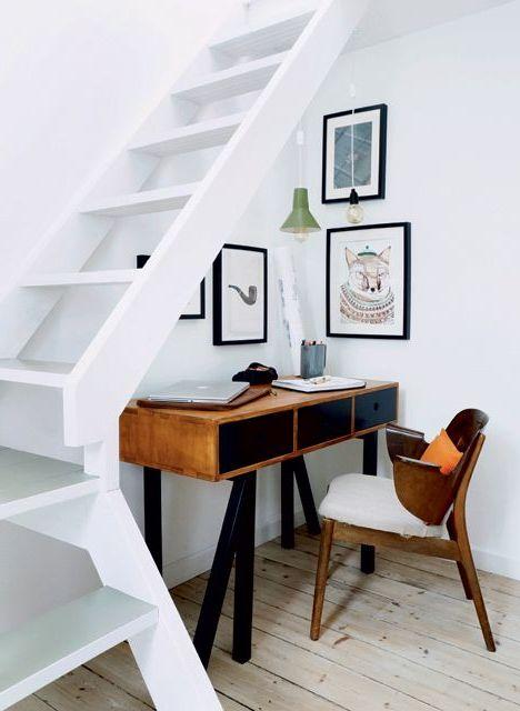 Escaleras modernas interiores y exteriores decorevista for Diseno de interiores para espacios pequenos