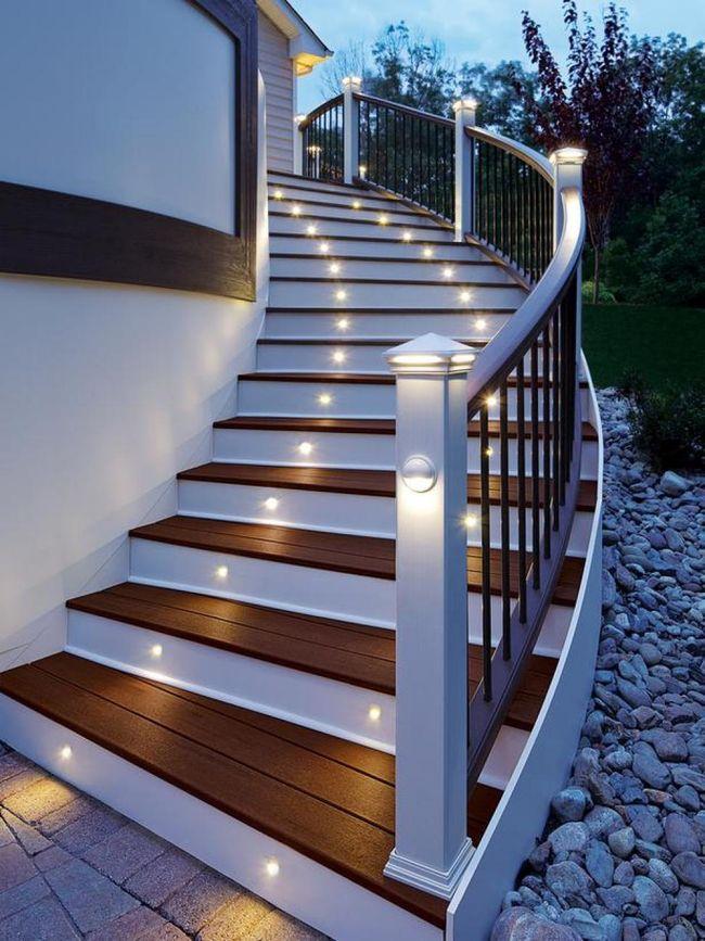 Escaleras modernas interiores y exteriores decorevista - Fotos de escaleras modernas ...