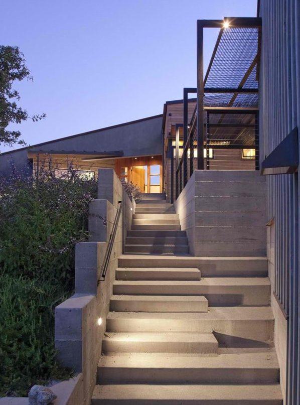 Escaleras modernas interiores y exteriores decorevista - Escaleras para exterior ...