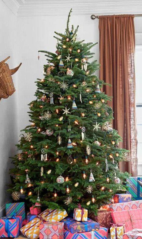Decoraci n de rboles de navidad ideas y fotos decorevista - Decoracion para arboles navidenos ...