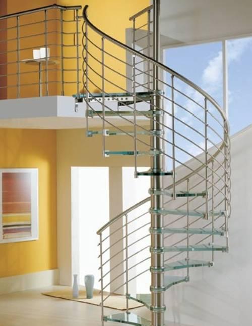 Escaleras Modernas Interiores Y Exteriores Decorevista - Escaleras-de-caracol-modernas