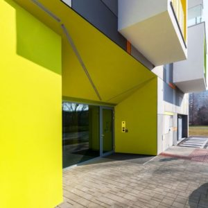 Fachadas de colores