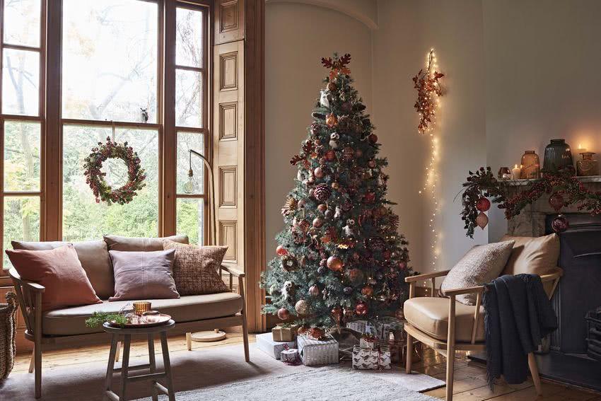 Decoraci n de rboles de navidad 2018 2019 ideas y fotos for Decoraciones rusticas para navidad