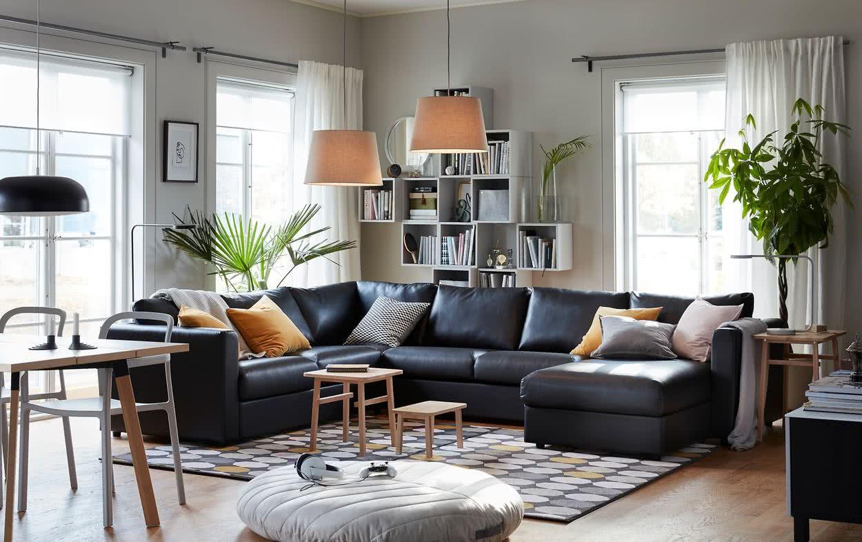 decoraciones de esquina para sala de estar Decoracin De Salones Modernos 40 Fotos E Ideas DecoRevista